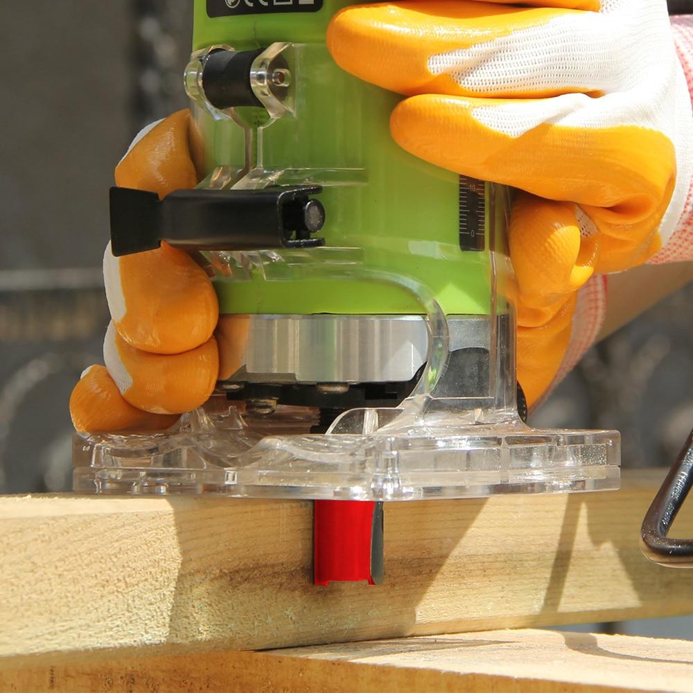 Купить с кэшбэком Milling Cutter for Wood 6mm Shank 35 Set Hss Carbide Cutters Router Bit Woodworking Tools