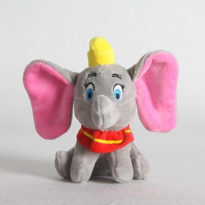 15/25cm חמוד דמבו בפלאש Keychain צעצועי קטיפה יפה פיל ממולא בפלאש צעצוע