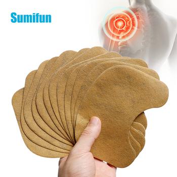 12Pc ulga w bólu Patch piołun Plaster medyczny stawów Patch szyjki macicy kolana na ramię bólu stawu ulgę w bólu naklejki D3805 tanie i dobre opinie Sumifun CN (pochodzenie) C1940 BODY Neck Medical Plaster Neck relief pain patch Cervical spondylosis 13*10 cm 1 6 12pcs