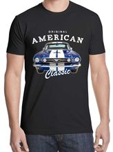 2019 New Hot Sale T-shirt Free Shiping Mustang American Classic Muscle Car Size S - 3XL