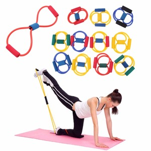 2 шт., спортивные резинки для занятий йогой, Пилатес, АБС-пластик, растягивающееся оборудование для занятий фитнесом, трубчатые ленты для тренировок