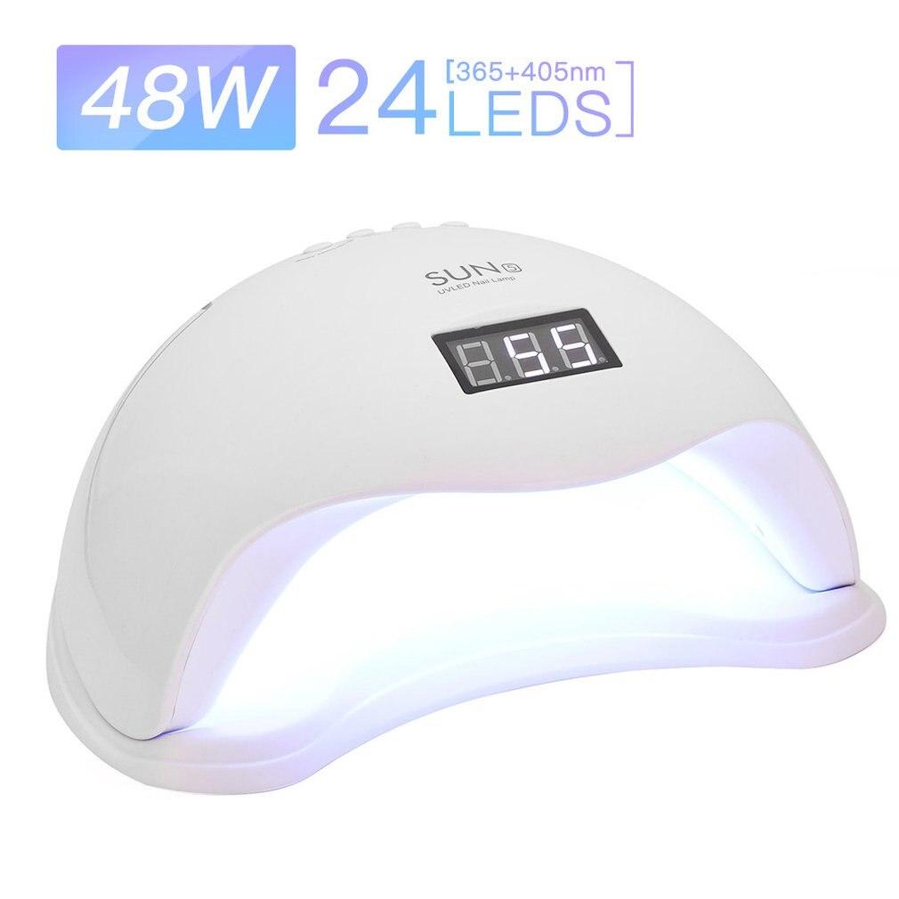 Профессиональная светодиодная УФ-лампа для ногтей, 48 Вт, светильник лампа для ногтей, Сушилка для ногтей, УФ-лампа для женщин, модная лампа д...