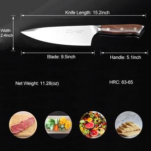 Image 2 - 24cm שף מטבח סכין יפני HAP40 פלדה גבוהה פחמן סופר חד בשר פילה דג חיתוך בישול המטבח סכיני 28