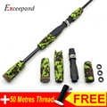 Exceepand CAMO Rod Building EVA Camouflage Spinning Fishing Rod Handle Grip and IPS Type Reel Seat Rod Repair
