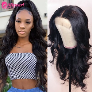 AliPearl Hair Wigs Body Wave 6x6 Lace Closure Wig Human Hair Wigs Brazilian 5x5 Lace Wigs For Black Women 150 180 Ali Pearl Hair(China)