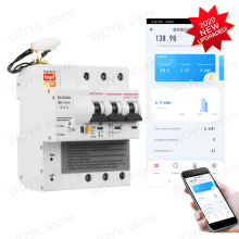 Circuit-Breaker Energy-Monitoring Remote-Control Tuya Alexa Smart Home WIFI with Google