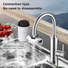 Мгновенный нагревательный смеситель Электрический кран для кухни
