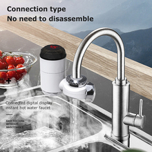 Electric Faucet Water-Installation Kitchen Instant Hot-Water Connection-Type Bathroom