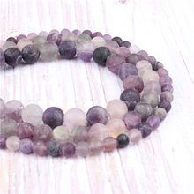 Frosted Amethyst Natural?Stone?Beads?For?Jewelry?Making?Diy?Bracelet?Necklace?4/6/8/10/12?mm?Wholesale?Strand