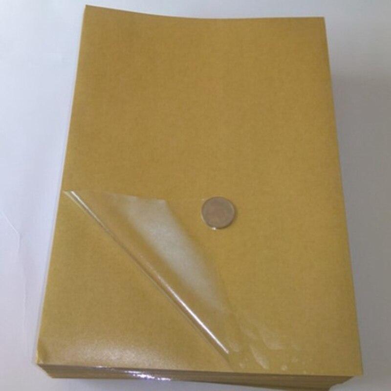 100 folhas a4 pvc adesivo adesivo de