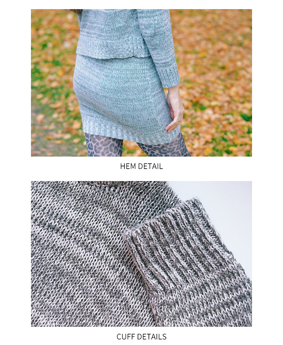 H58dc4bf9489f4b39ab247b05db16cb8bZ - winter knitted women's suit two piece skirt set women clothes ropa mujer conjunto feminino conjuntos de mujer vetement femme
