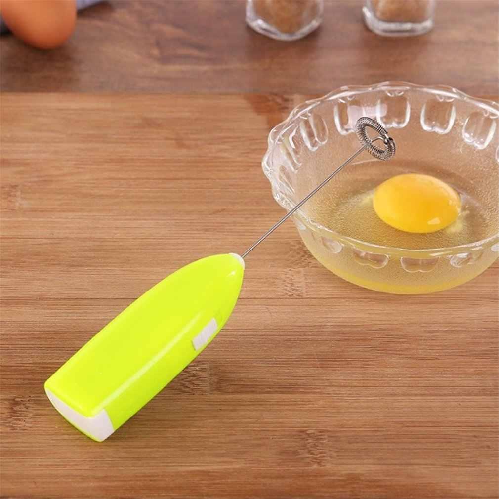 Listrik Susu Frother Foamer Blender Tangan Membawa Ledakan Tipe Mixer Kopi Telur Pemukul Tahan Lama Mesin Beat