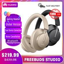 Bluetooth Kopfhörer Huawei Freebuds Studio Globale Version Audiophile Drahtlose TWS HALLO-FI ANC Typ C 24h Arbeits Gaming Headset