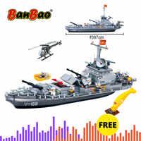 BanBao tonnerre cuirassé armée militaire blocs de construction compatibles avec la marque briques éducatives enfants enfants jouet modèle 8240