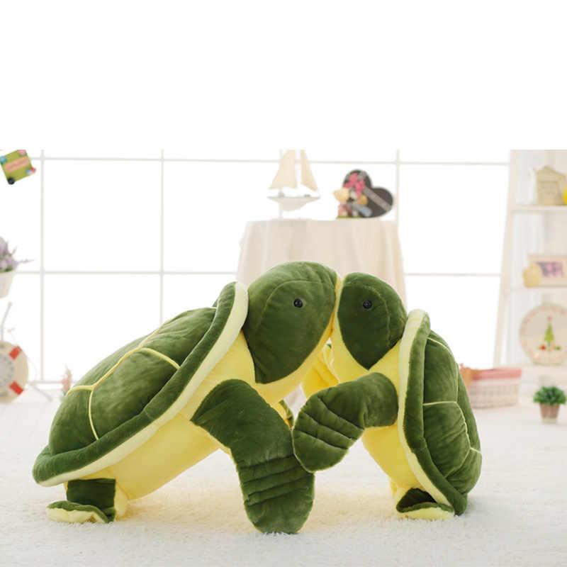 20-70 ซม.น่ารักของเล่นเต่าทะเลสีเขียว Plush Turtle หมอนของเล่น Marine สัตว์ทารกตุ๊กตาตุ๊กตาวันเกิดของขวัญ