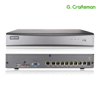 New 8ch POE 5MP NVR H.265 NVR Onvif Network Video Recorder 1 HDD 24/7 Recording IP Camera Onvif 2.6 TUTK P2P System G.Ccraftsman