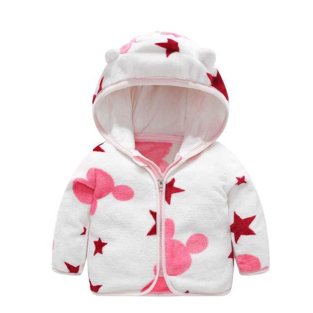 Hooded Fleece Baby Coat 2
