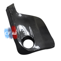 CF Kit Real Carbon Fiber M3 M4 Car Engine Protector Cover Trim For BMW M3 M4 F80 F82 F83 2014 2017 Car Styling