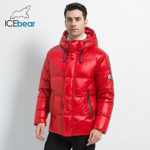 Image 3 - Icebear 2019 新冬メンズダウンジャケットスタイリッシュな男性ダウンコート厚く暖かい男服ブランドのメンズアパレルMWD19867I