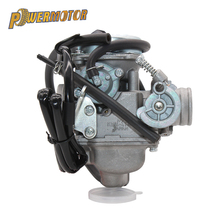 Powermotor New PD24J Carburetor 24mm Carb 42mm air filter motorcycle for Engine GY6 125CC 150CC 200CC ATV Go Kart Moped and Scoo 6 pins dc ignition cdi box for gy6 125cc 150cc 200cc 250cc atv quads moped scooter buggy go kart motorcycle
