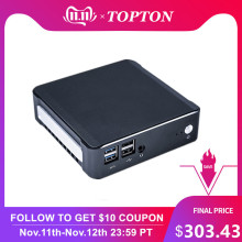2019 Topton Nuc mini pc Whiskey Lake Intel i7 8565U Quad Core UHD Graphics 620 Desktop Computer Win10 Pro HDMI2.0a DP1.2 AC WiFi