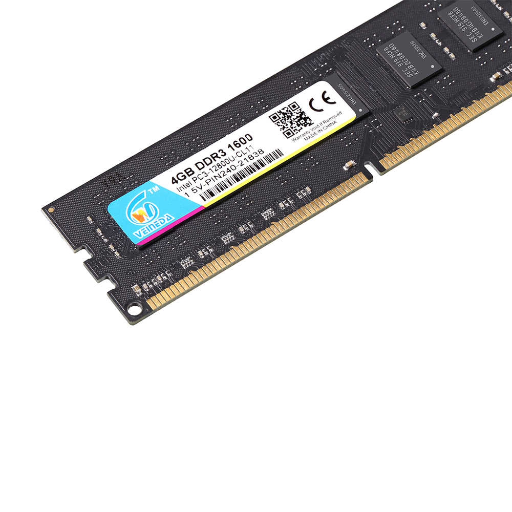 VEINEDA ddr3 1333 8 ギガバイトの ram メモリ ddr3 dimm ddr3 ram 互換のすべてのインテル AMD デスクトップ PC3-10600 ため 240pin
