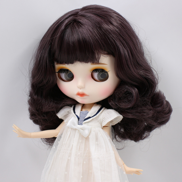 Ana – Premium Custom Blythe Doll with Full Outfit Pouty Face