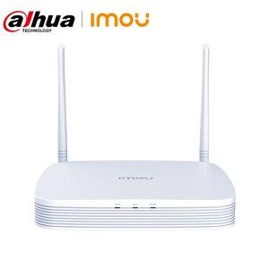 Wi-Fi сеть Dahua Imou, сетевая система безопасности, 8 каналов, беспроводная NVR, 4K разрешение, прочное проникновение на стену, соответствует стандар...