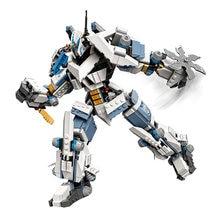 2021 New movie city Zane's Titan Mech Battle Model set Building Blocks 71738 7188 Toy Bricks birthday gift