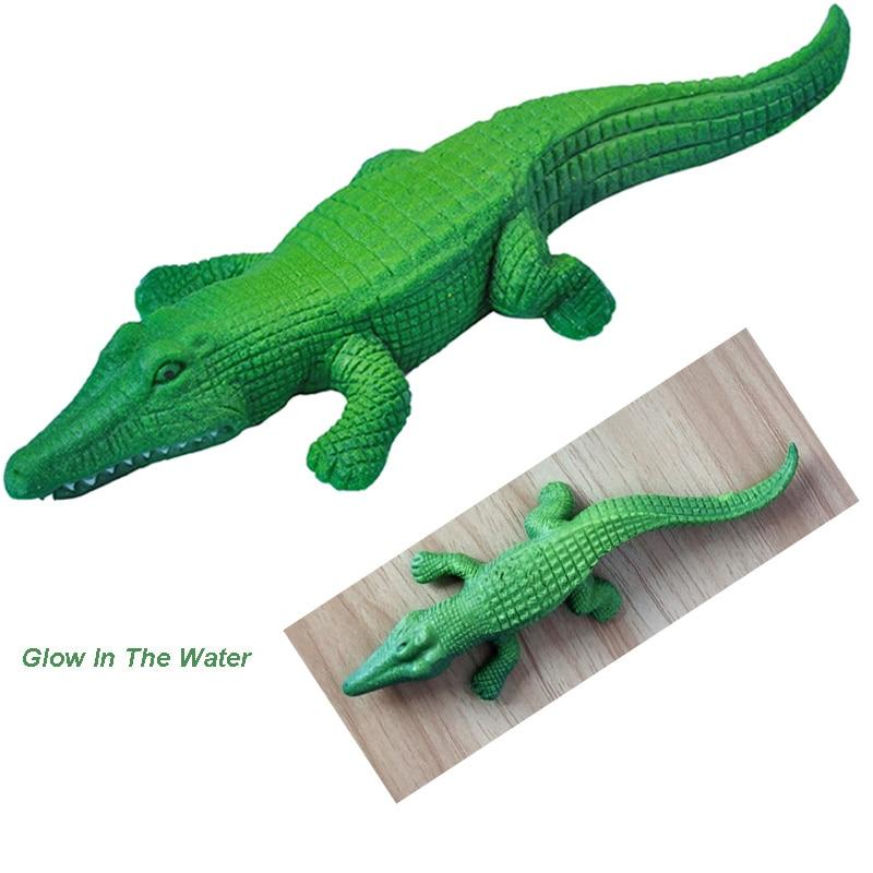 Large Cartoon Crocodile Crystal Soil Hydrogel Mud Growing Toys In Water Gel Beads Aqua Aquarium Decoration Children Kids Favor