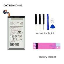DCTENONE Battery EB-BG950ABE for Samsung Galaxy S8 SM-G9508 G9508 G9500 G950U G950F 3000mAh Akku+ Tools battery original for samsung galaxy s8 eb bg950abe sm g9508 g9500 g950u li ion replacement batteria akku