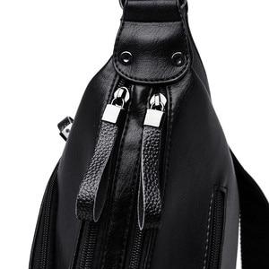 Image 5 - Winter Stil Weichen Leder Luxus Handtaschen Frauen Taschen Designer Doppel Tasche Frauen Taschen für Frauen 2020 Geldbörsen und Handtaschen Sac
