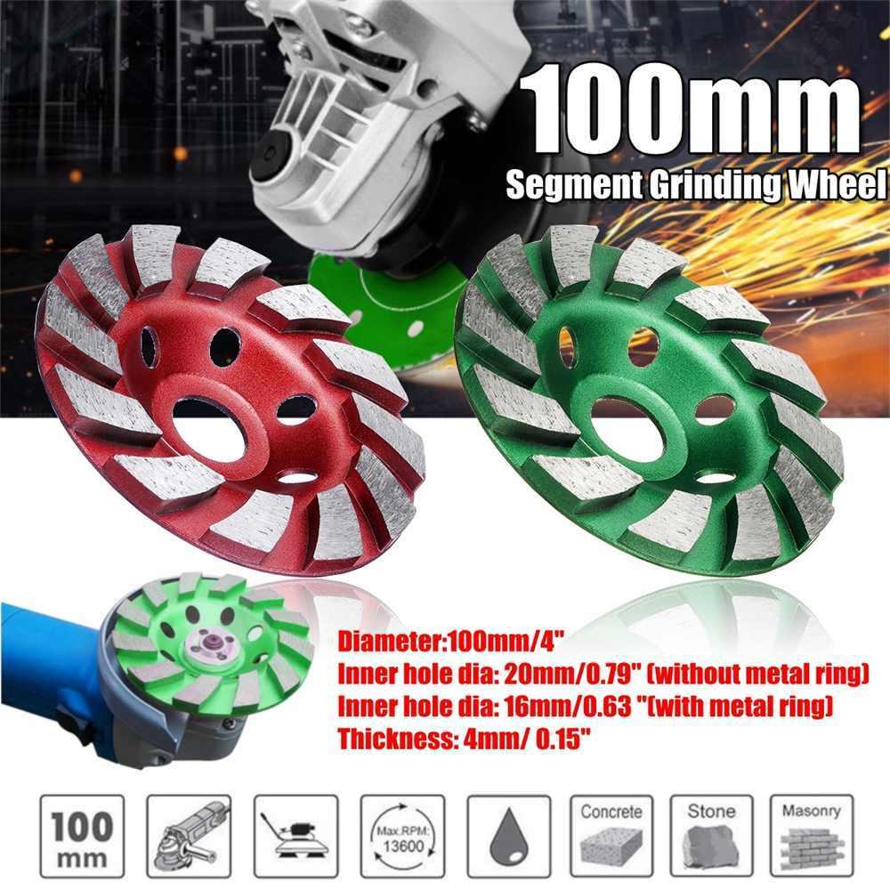"4 ""100Mm/90Mm/80Mm Diamond Grinding Wheel Disc Bowl Bentuk Grinding Cup Beton Granit batu Keramik Alat"