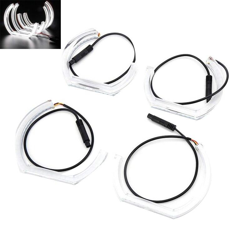 For BMW E92 07 10 Super Bright Angel Eye Aperture Kit 12V Daytime Running Light CCFL LED Angel Eye