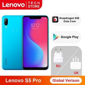 Lenovo Snapdragon 636 S5 Pro 6GB 64GB WCDMA/LTE/GSM Quick Charge 3.0 5g wi-Fi/bluetooth 5.0