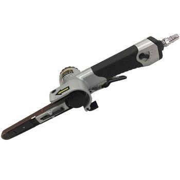 цена на 10mm * 330 Pneumatic Belt Machine Pneumatic Grinding Machine Grinding Machine Pneumatic Belt Polishing Machine Pneumatic Tools