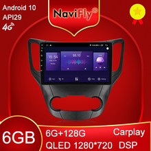Mekede 6gb + 128gb 8 núcleo carplay qled 1280*720 android 10.0 rádio gps carro muletimedia player para changan cs35 2013 - 2017