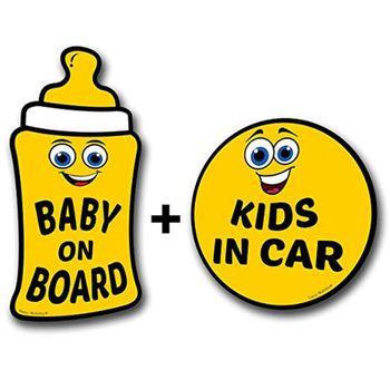 Pegatinas de coche precioso bebé a bordo reflectante vehículo parachoques imán reflectante vehículo coche señal pegatina
