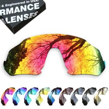 ToughAsNails Polarized Replacement Lenses for Oakley Flight Jacket OO9401 Sunglasses - Multiple Options smartvlt polarized replacement lenses for oakley fuel cell sunglasses multiple options