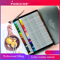 Marco 7100 24/36/48/72 цвета художника lapis (жидкокристаллический дисплей) комплект Цветной канцелярские карандаши написания картины Цвет карандаши д...