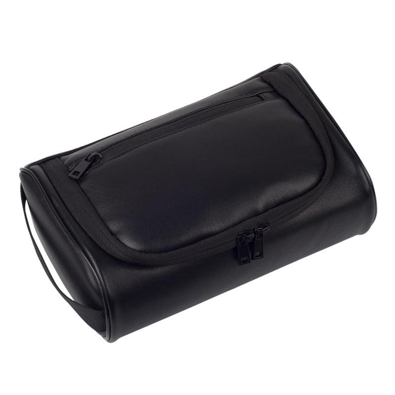 Makeup Bag Women Bags Men Large Waterproof PU Leather Travel Cosmetic Bag Organizer Case Necessaries Makeup Wash Toiletry Bag