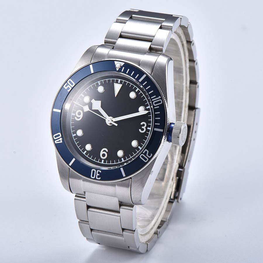 Permalink to watch men automatic mechanical watch Luminous waterproof 316L Solid stainless steel 41MM  DT599