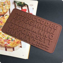 Novo arco urso fondant molde bolo de chocolate molde de cozimento modelagem decoração inglês letra número fonte alfabeto bolo biscoito cozimento