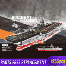 06020 Military WW2 Series Battleship Type 001A Ship Fighter Tank Models Building Blocks Toys Brick With Figure Gift