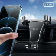INIU Gravity Car Holder For Phone Air Vent Mount Mobile Cell Stand Smartphone GPS Support For iPhone 12 11 XS 8 7 Xiaomi mi 10 9