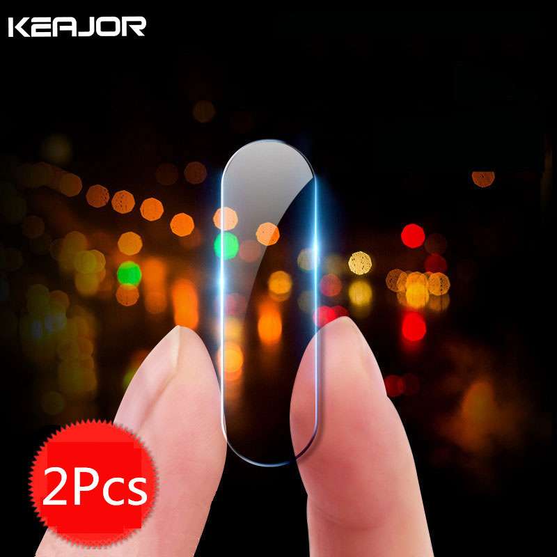 2Pcs Keajor Glass Film For Xiaomi Redmi Note 8 Pro Tempered Glass Anti-Explosion Camera Lens Protector Flim For Redmi Note 8