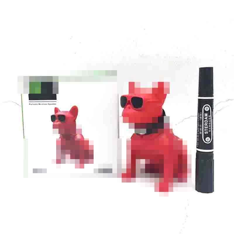 Altavoz ワイヤレススピーカーブルドッグ bluetooth スピーカーポータブル犬フーバー多目的コンピュータスピーカー Mp3 fm ラジオサウンドバー