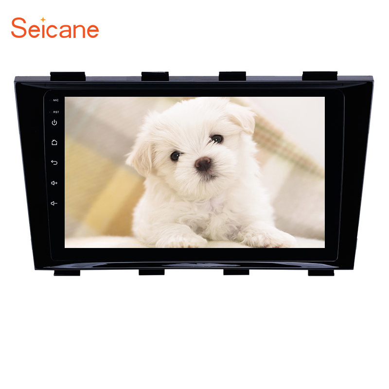 Seicane Car Multimedia Player Andriod GPS Navigation for Geely Emgrand EC8 2009 2010 2011 2012-2015 <font><b>2DIN</b></font> HD <font><b>Autoradio</b></font> WiFi USB image