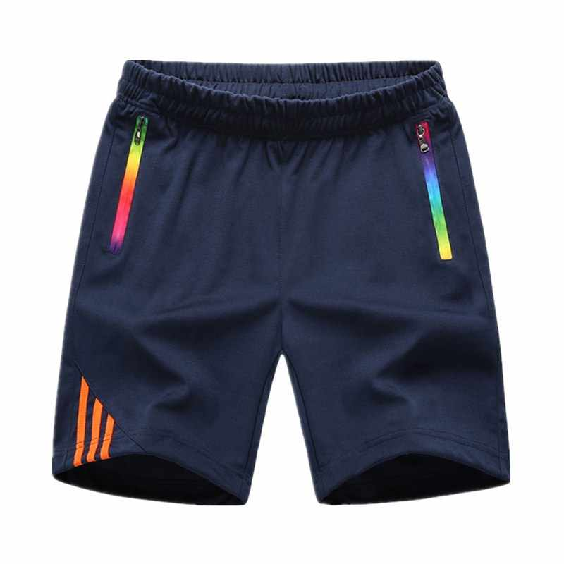 LBL szorty w paski mężczyźni lato męska odzież sportowa Casual Boardshorts człowiek kieszeń na suwak oddychające męskie krótkie spodnie New Fashion