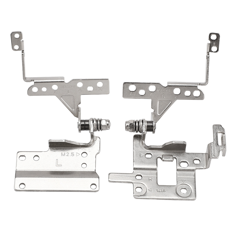 LCD Hinge For ASUS X551 X551CA X551SL X551C D550MA Notebook LCD Screen Display Left & Right Hinges Steel Brackets Set